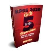 Doğru Tercih Yayınları 2020 KPSS Genel Yetenek Genel Kültür Çözümlü 5 Deneme Sınavı