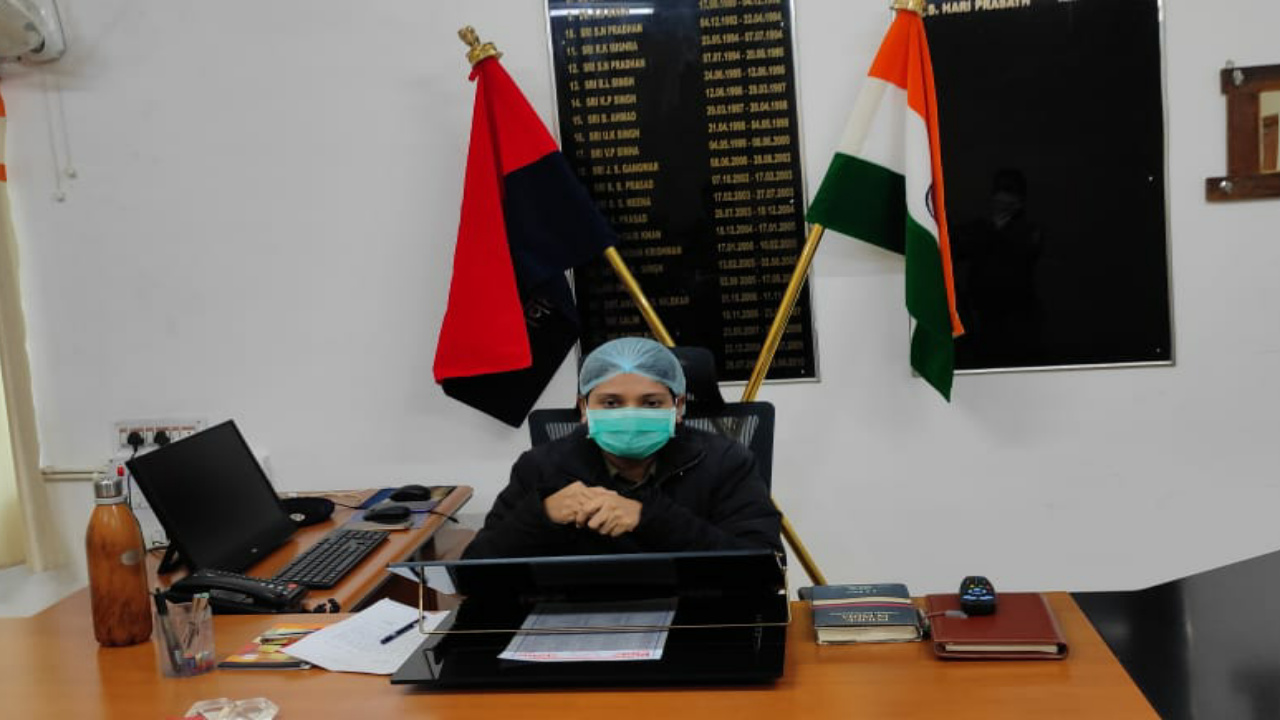 धूरत श्याली बनीं नवादा जिले की दूसरी महिला एसपी , मंगलवार को किया पदभार ग्रहण