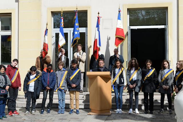 Mairie de Sèvres - Commémoration de la déportation