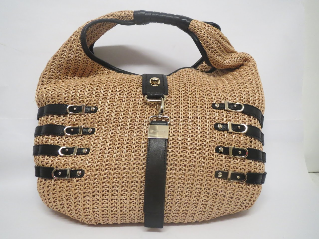 Jimmy Choo Woven Bucket Bag