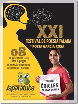 XXI Festival de Poesia de Japaratuba-divulgação