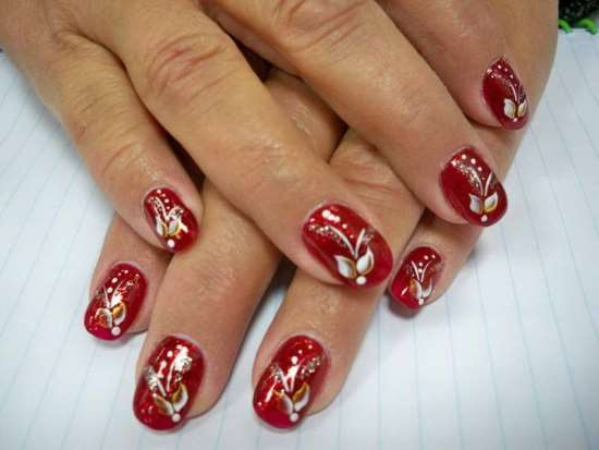 Creative christmas nail art designs fashionte you can produce santa styles on your nails victimization the colors red and white youll additionally produce a buckle with a horizontal black stripe prinsesfo Choice Image