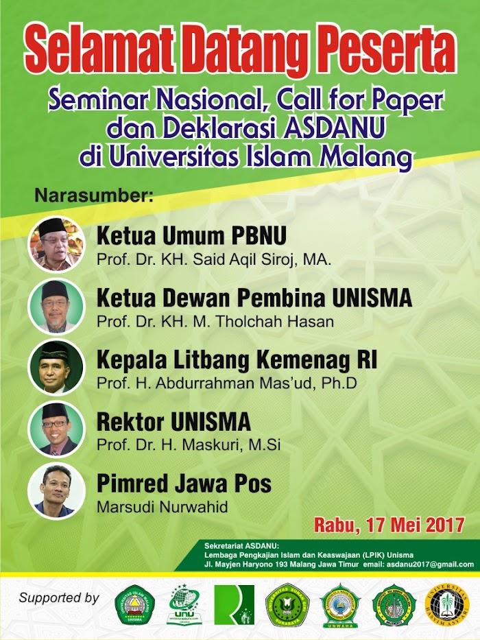 Asdanu, Inisiasi Akademisi Muslim Moderat