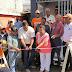 Ministerio de Obras Públicas entrega casa totalmente remozada a viuda residente en Santiago.