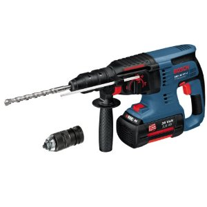 Buy Bosch Professional GBH 36VF LI 36V Lithium Ion SDS Plus Rotary Hammer Cordless Drill Complete with Quick Change Chuck 2 x 2.6A Batteries