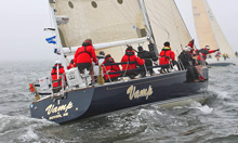 J/44 one-design sailboats- sailing Block Island Race