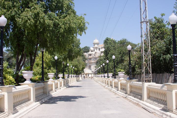 Photo - The long path leading from the jetty for the Palace Hotel to the Udaipur City Palace