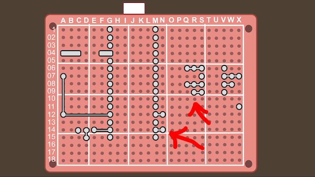 Synth build guide MIDI circuit 15