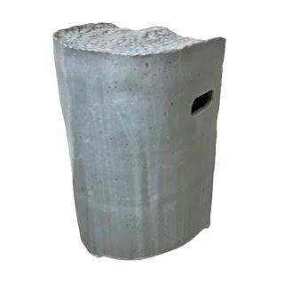 Cast Ceramic Stool