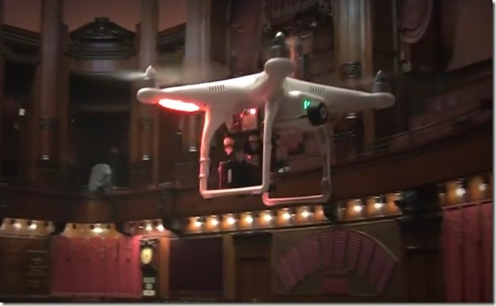 droni parlamento