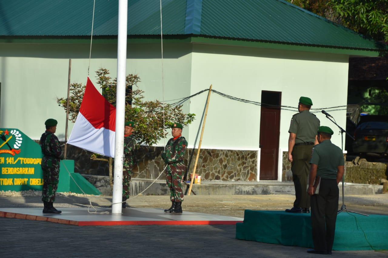 Ini Penekanan Pangdam XIV Hsn Di Upacara Bendera Korem 141/Tp