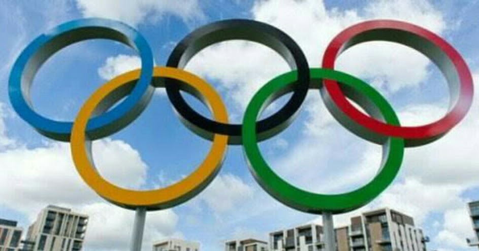 What do the Olympic Rings Represents