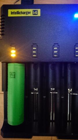 DSC 1373 thumb%25255B4%25255D - 【バッテリー/充電器】「NITECORE ナイトコア Intellicharger i4」レビュー。4本同時充電可能、コスパに優れたバッテリーチャージャー。