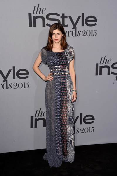 Alexandra Daddario attends the InStyle Awards