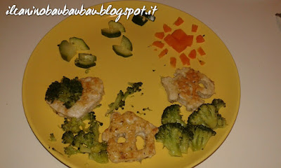 paesaggio di hamburger e verdure