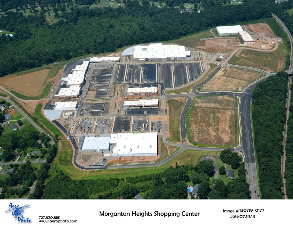 Morganton Heights Aerial 2