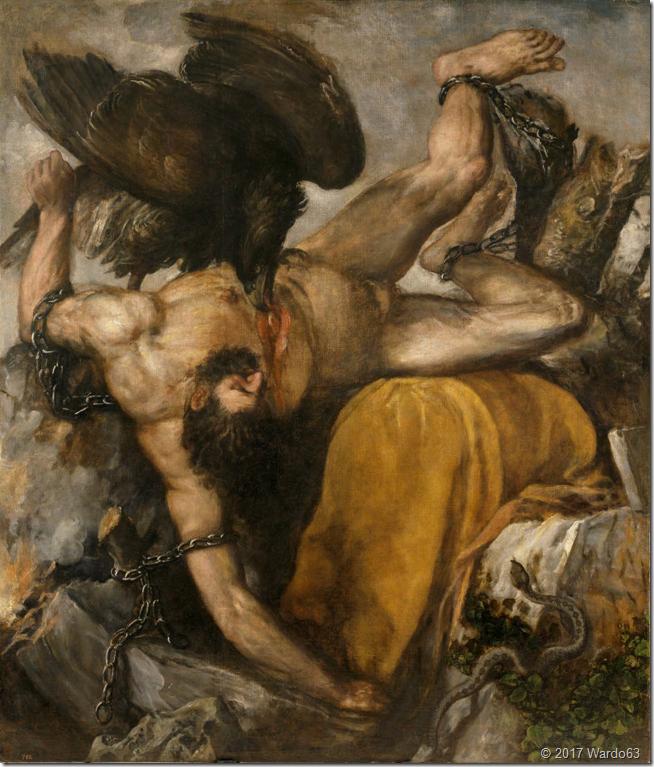 TICIO. TIZIANO. 1565. MUSEO DEL PRADO