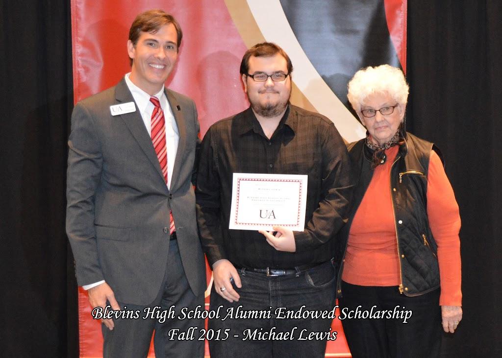 Scholarship Ceremony Fall 2015 - Blevins%2BAlumni%2B-%2BMichael%2BLewis.jpg