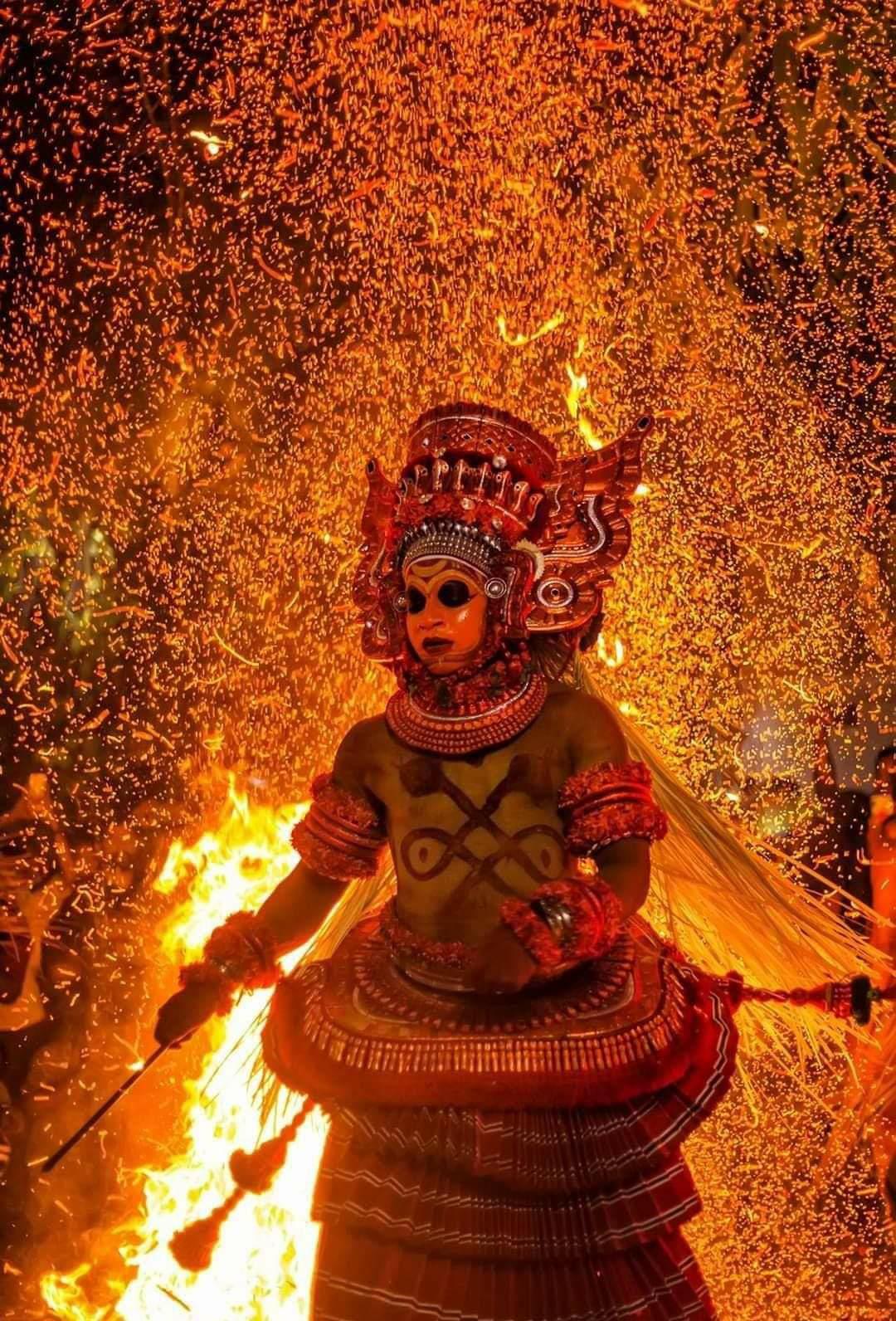 Vayanattu Kulavan Theyyam - Kandanar kelan photo