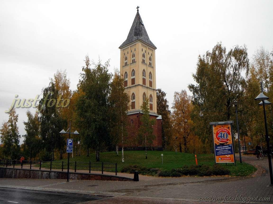 Что посмотреть в Лаппеенранте колокольня в центре города фото