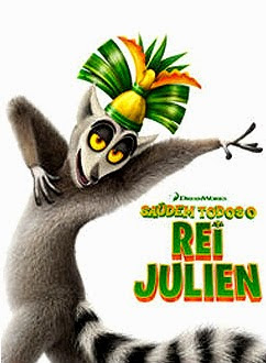 Filme Poster Saúdem Todos O Rei Julien HDRip XviD & RMVB Dublado