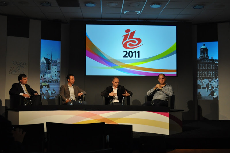 Photo of the TV Genius Business Session at IBC 2011