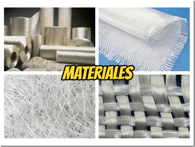 Collage Fibra de vidrio - Materiales - Tutorial Iron Man -Pepakura