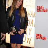WWW.ENTSIMAGES.COM -   Melanie Chisholm   arriving at     Made In Dagenham - press night at Adelphi Theatre London November 5th 2014Comedy musical based on the hit British film.                                                  Photo Mobis Photos/OIC 0203 174 1069