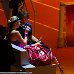 STUTTGART, GERMANY - APRIL 22 : Petra Kvitova in action at the 2016 Porsche Tennis Grand Prix