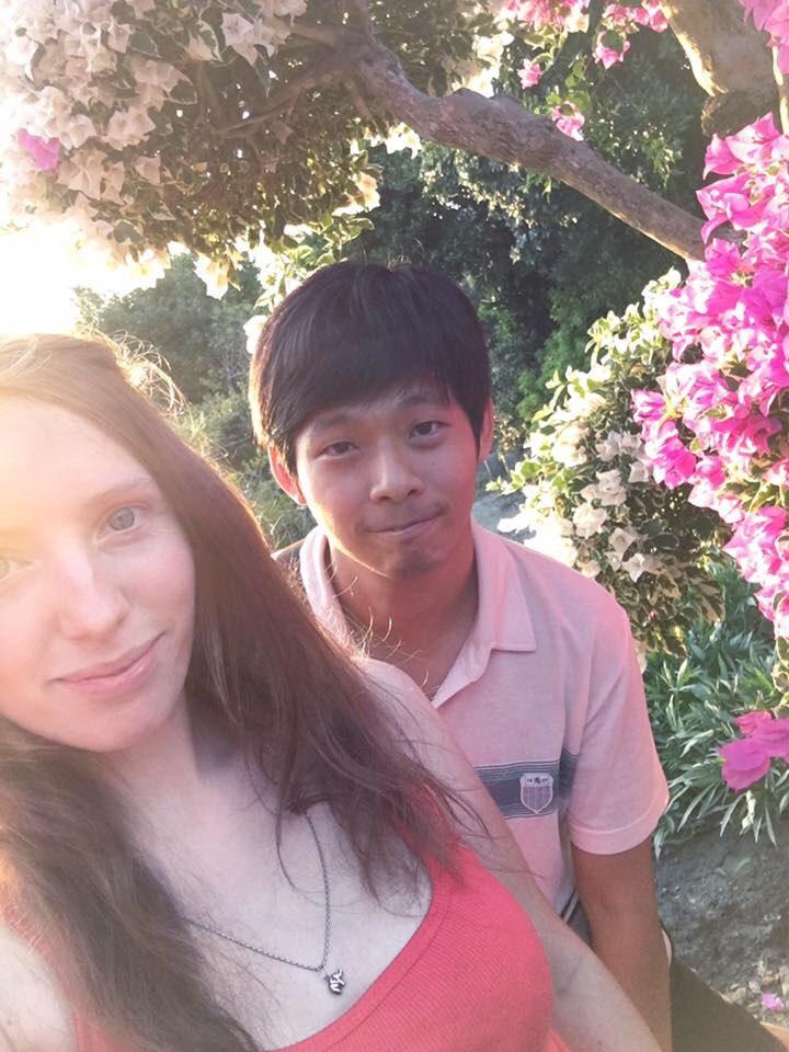 tianwei highway garden changhua Taiwan flowers bougeanvilla amwf couple