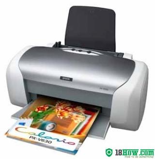 How to Reset Epson PX-V630 lazer printer – Reset flashing lights error