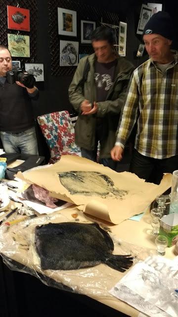 gyotaku, Kubrick, paisaje humano, taller, planeta Bilbao