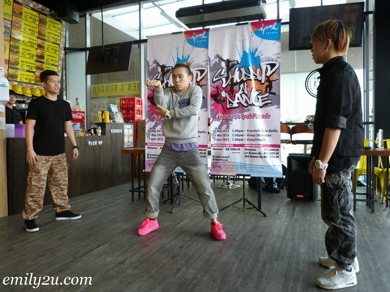 press conference shuddup n dance