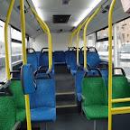 Het interieur van de Optare Solo van Syntus bus 5316 met lijn 103 naar Nunspeet via Putten