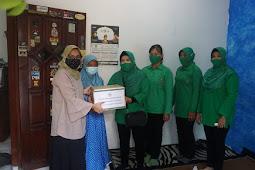 Persit Kodim 0819 Pasuruan, Gelar Bakti Sosial Dan Anjangsana Dengan Bagikan Sembako Pada Warakawuri Dan Anak Yatin