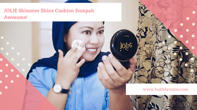 JOLIE SHIMMER SHINE CUSHION