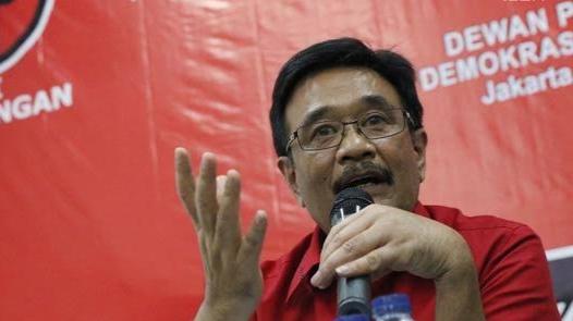 Foto: Djarot Saiful Hidayat. Membelot ke Demokrat, PDIP Pecat Plt Wali Kota Medan Akhyar Nasution.
