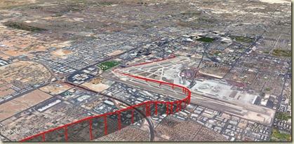 GE Décollage McCarran Las Vegas