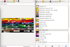 Paletas de colores para Gimp, Inkscape y Blender en Ubuntu