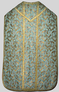 Some Cerulean Blue Vestments from Italy