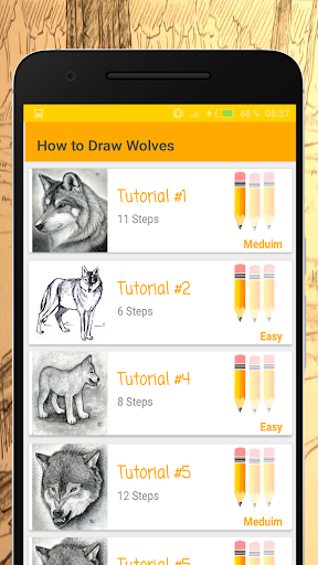 Baixar How to Draw Wolves - Easy Drawing Step by Step para