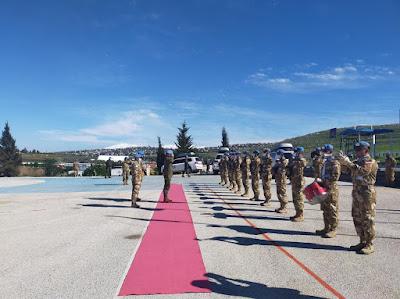 Komandan Sektor Timur Kunjungi Area of Responsibility Indobatt  di Lebanon