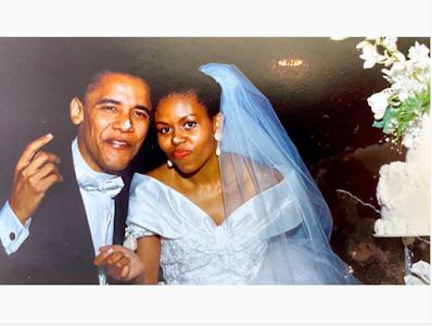Michelle Obama Writes & Shares Cute Throwback Photo With Ex-US President Barack Obama On Their Wedding Night | GO247BLOG.COM