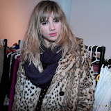 WWW.ENTSIMAGES.COM -   Suki Waterhouse     at      FrockDrop.com pop-up launch party  at 68 Sclater Street, London  March 11th 2013                                                  Photo Mobis Photos/OIC 0203 174 1069