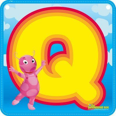 Backyardigans Alphabet Oh My Alphabets