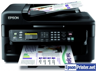 Download reset Epson WorkForce WF-3521 printer tool