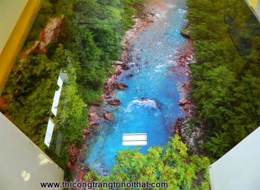 Biến phòng tắm thành đại dương với tranh nghệ thuật 3D đầy ấn tượng - Thi công trang trí nội thất-7