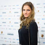 STUTTGART, GERMANY - APRIL 18 : Karolina Pliskova at the 2016 Porsche Tennis Grand Prix players party