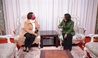 Ministra de Aliyah na Etiópia: animadao para retornar à minha terra natal