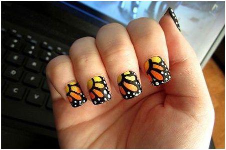 acrylic nails on short please nails art  styles art